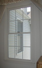 Photo of an installed Soundproof Window.